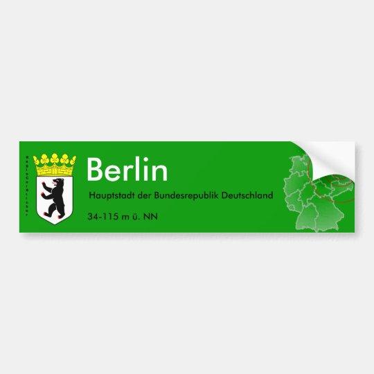 Berlin 4 autoaufkleber