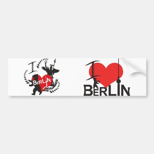 Berlin Aufkleber Autoaufkleber