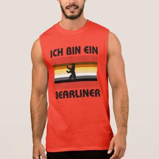 Berlin-Bärn-Stolz Ich bin Ein Bearliner Ärmelloses Shirt