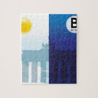 Berlin bei Tag und Nacht - Brandenburger Tor Puzzle
