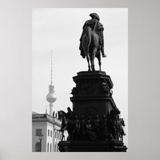 Berlin Berliner Fernsehturm Poster