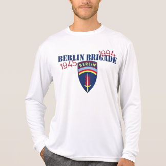 Berlin-Brigaden-langes Hülsen-Shirt T-Shirt
