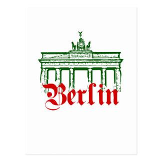 Berlin Deutschland Postkarte