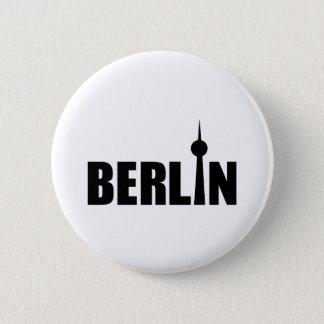 Berlin Deutschland Runder Button 5,7 Cm