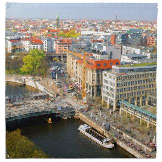 Berlin, Deutschland Stoffserviette