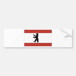 Berlin-Flagge Autoaufkleber