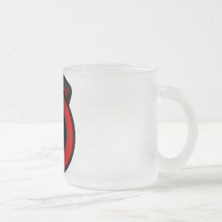 Berlin Infantry Brigade Fan Glass Mug Mattglastasse