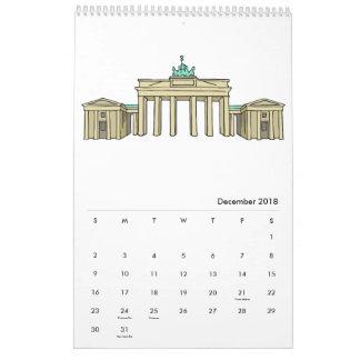 Berlin-Kalender 2018 Wandkalender