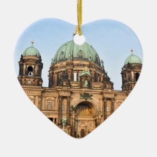 Berlin-Kathedrale (Bewohner von BerlinDom) Keramik Herz-Ornament