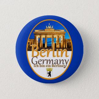 BERLIN-Knopf Runder Button 5,7 Cm