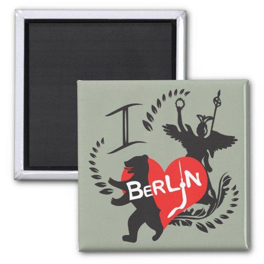 Berlin Magnet Quadratischer Magnet