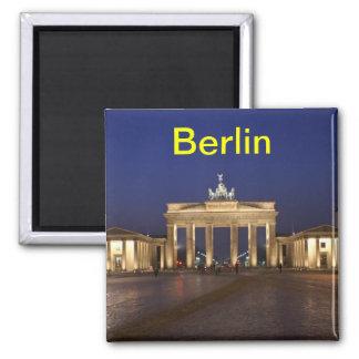 Berlin-Magnet Quadratischer Magnet