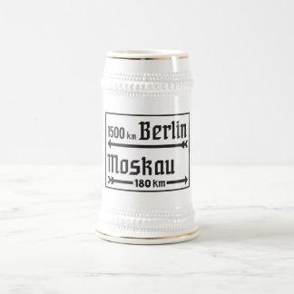 Berlin-Moskau, II Weltkrieg, Russland Bierglas