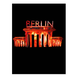 Berlin-Nachtleben Postkarte