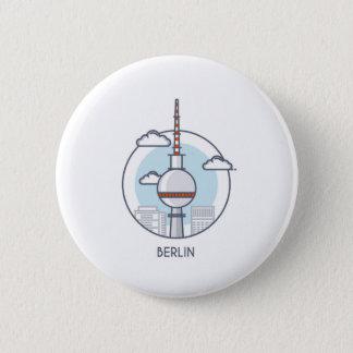 Berlin Runder Button 5,7 Cm