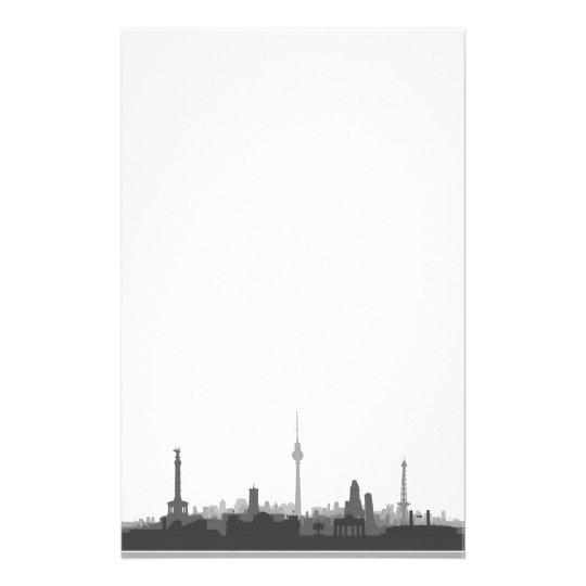 Berlin Skyline Briefpapier