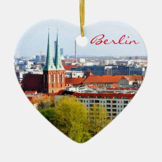 Berlin-Skyline (Deutschland) Keramik Ornament