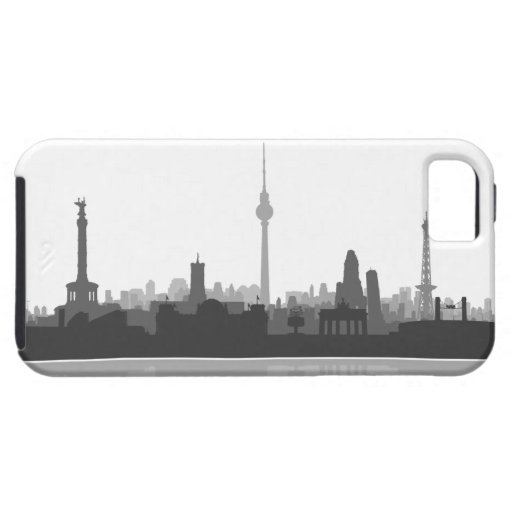 Berlin skyline iPhone 5 sleeve/Case Etui Fürs iPhone 5