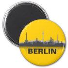 Berlin Skyline Kühlschrank Magnet