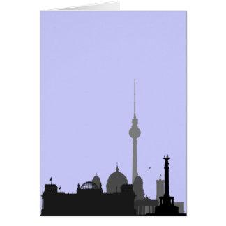 Berlin-Stadtbild Karte