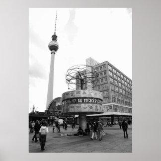 Berlin Straßen Bild Poster