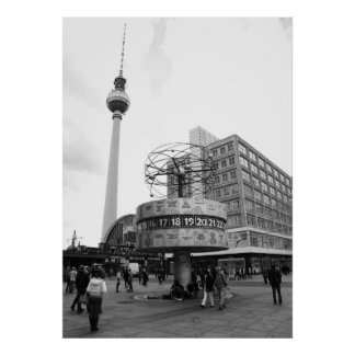 Berlin Straßen Bild Posterdrucke