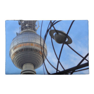 """BERLIN TV Tower with Detail of """"World Time Clock"""""""