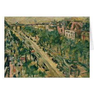 Berlin, Unter Höhle Linden, 1922 Grußkarte