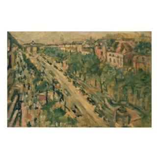 Berlin, Unter Höhle Linden, 1922 Holzleinwände