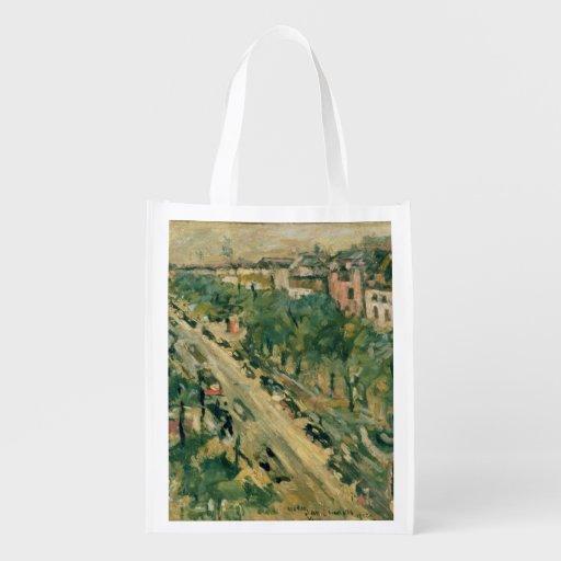 Berlin, Unter Höhle Linden, 1922 Einkaufstaschen