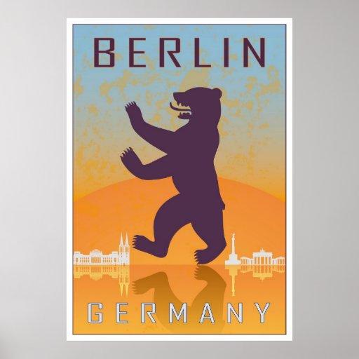 Berlin vintage Plakat