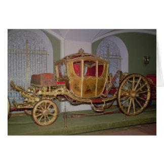 Berlin-Wagen der Kaiserin Catherine II Karte