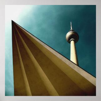 Berliner Fernsehturm Plakat