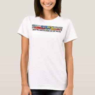 BERLINER MAUER GRAFFITIS durch INDIANO OSTEN-SIDE T-Shirt