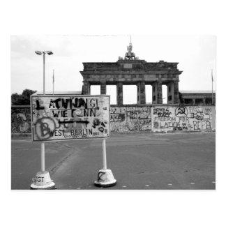 Berliner Mauer Postkarte