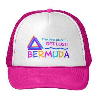 BERMUDA-DREIECK-Hut - wählen Sie Farbe Netzmützen