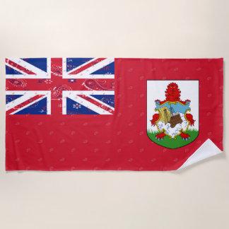 Bermuda-Flaggen-Badetuch Strandtuch