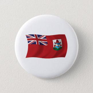 Bermuda-Flaggen-Knopf Runder Button 5,1 Cm
