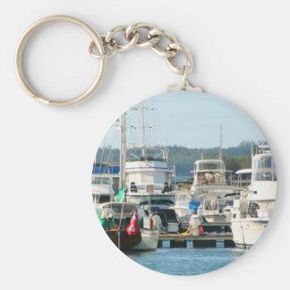 Bermuda-Hafen keychain Schlüsselanhänger