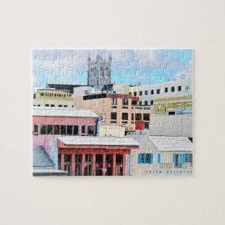 Bermuda- - Hamilton-Skyline Puzzle