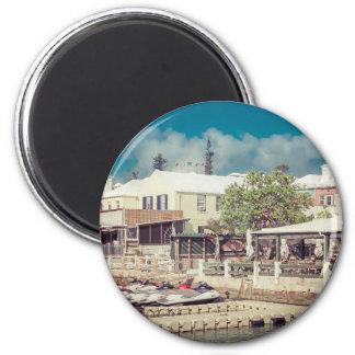 Bermuda-Jet-Ski Runder Magnet 5,7 Cm