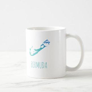 Bermuda-Karte Kaffeetasse