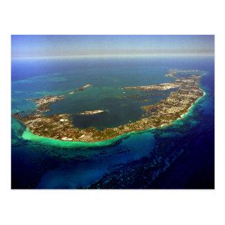 Bermuda-Luftaufnahme Postkarte