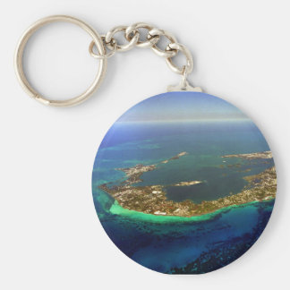 Bermuda-Luftaufnahme Schlüsselanhänger