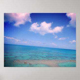 Bermuda-Ozean Poster