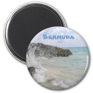 Bermuda-Welle Runder Magnet 5,7 Cm