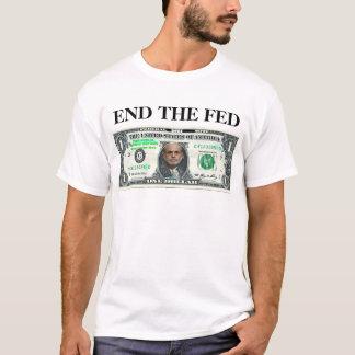 Bernanke Dollar-Enden-gefüttert T-Shirt