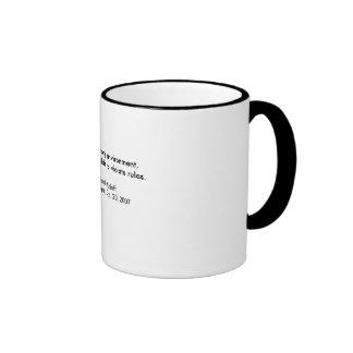 Bernard Madoff Zitat Kaffeetassen