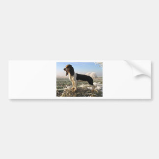 Berner Laufhund Hund Autoaufkleber