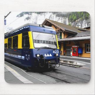 Berner Oberland bahn Zug in der Schweiz Mousepad